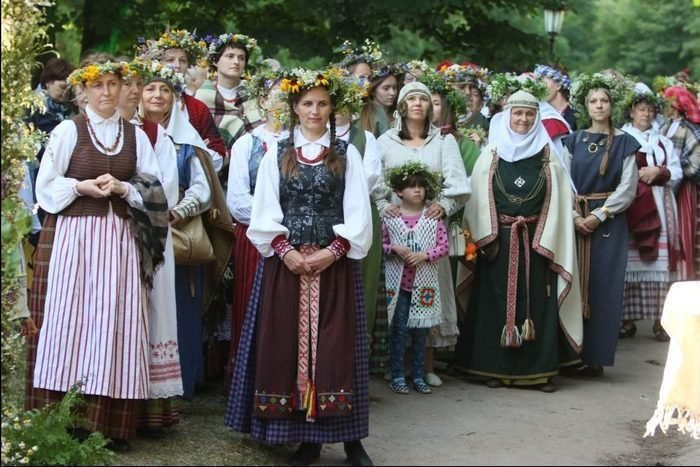 Rasa, Lithuania summer solstice