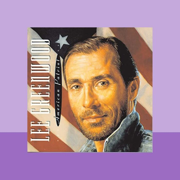 """""""God Bless the U.S.A."""" by Lee Greenwood album cover art"""