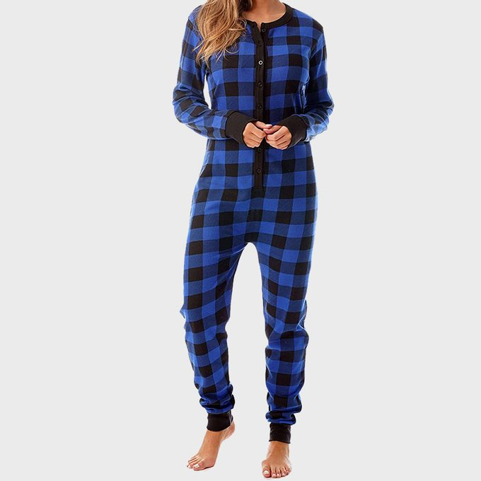 Henley Thermal Onesie From Follow Me