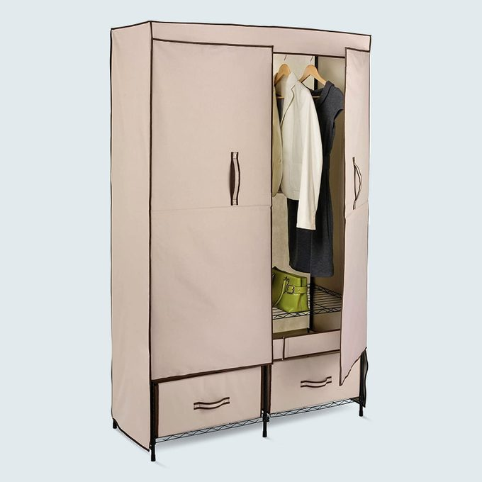 Honey Can Do Portable Wardrobe Storage Closet