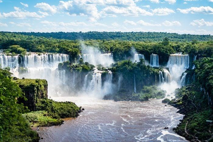Iguazú Falls in Argentina