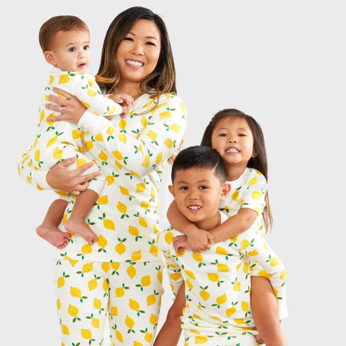 Lemons Matching Family Pajamas From Hanna Andersson