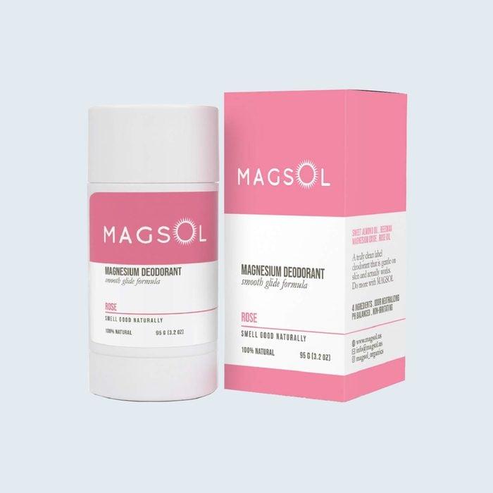Magsol Natural Deodorant With Magnesium