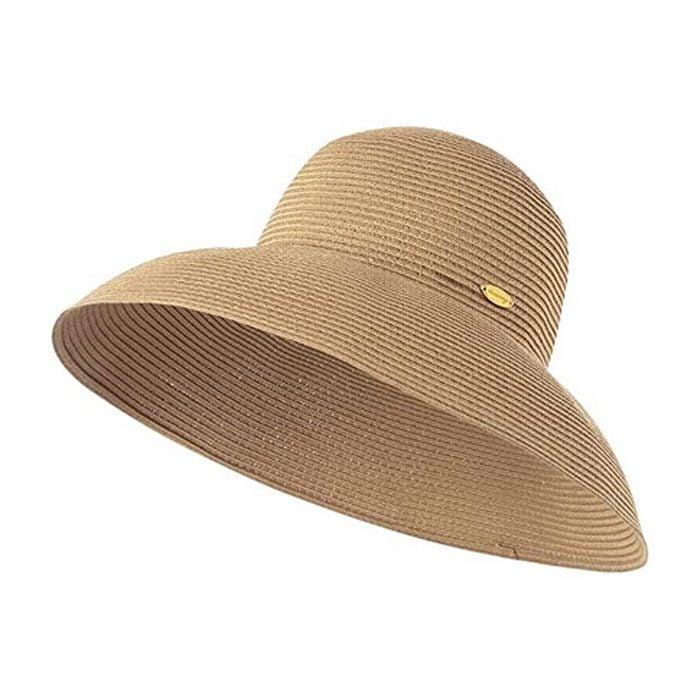 Ohsunny Women S Wide Brim Straw Hat Foldable Floppy