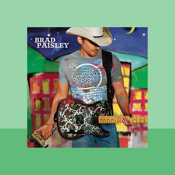 """American Saturday Night"" by Brad Paisley album cover art"