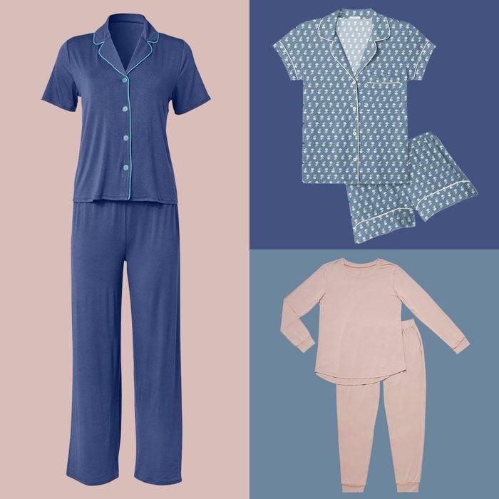 Pajamas Colorblock background