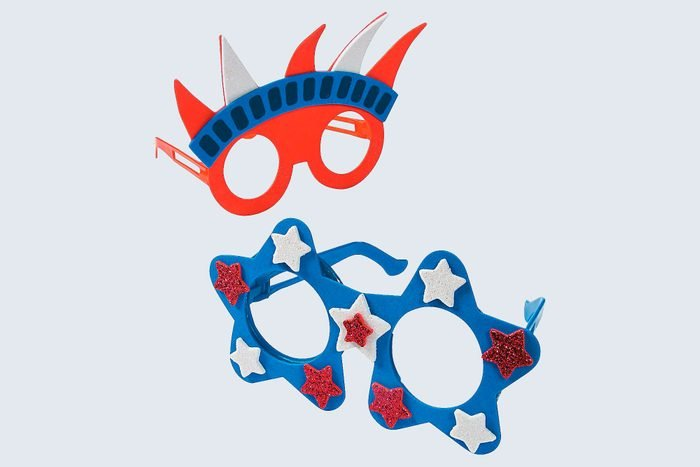 Patriotic Foam Glasses Craft Kit