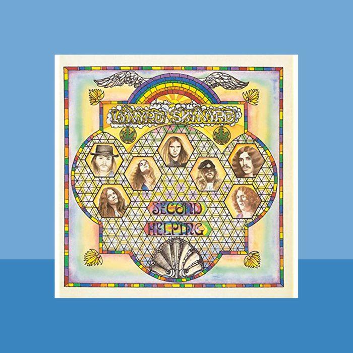 """""""Sweet Home Alabama"""" by Lynyrd Skynyrd album cover art"""