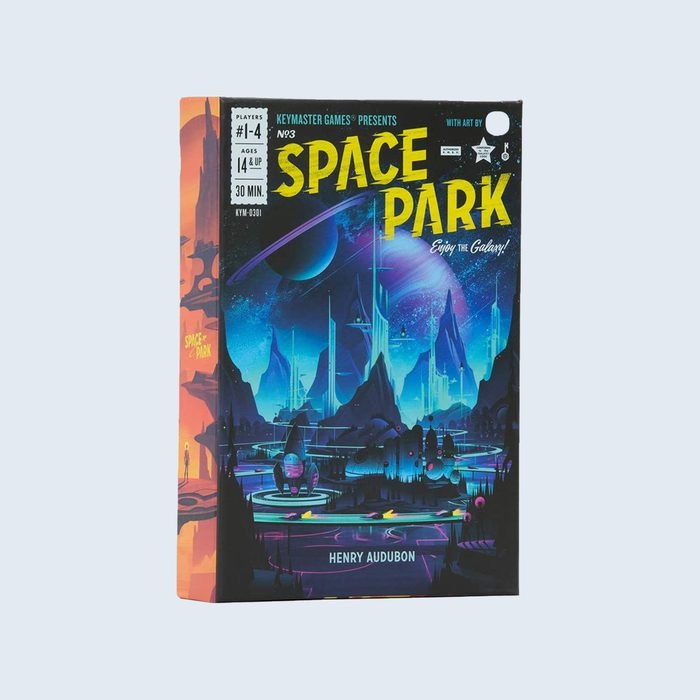 Space Park card game cover
