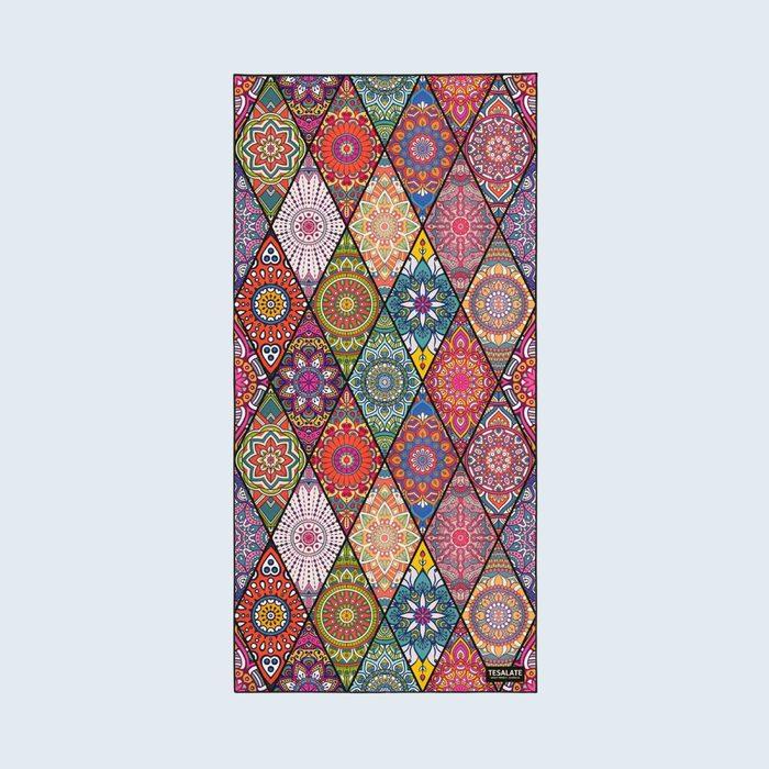bohemian patterned beach towel