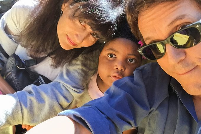 Selfie of Janine, Mitch and Chika