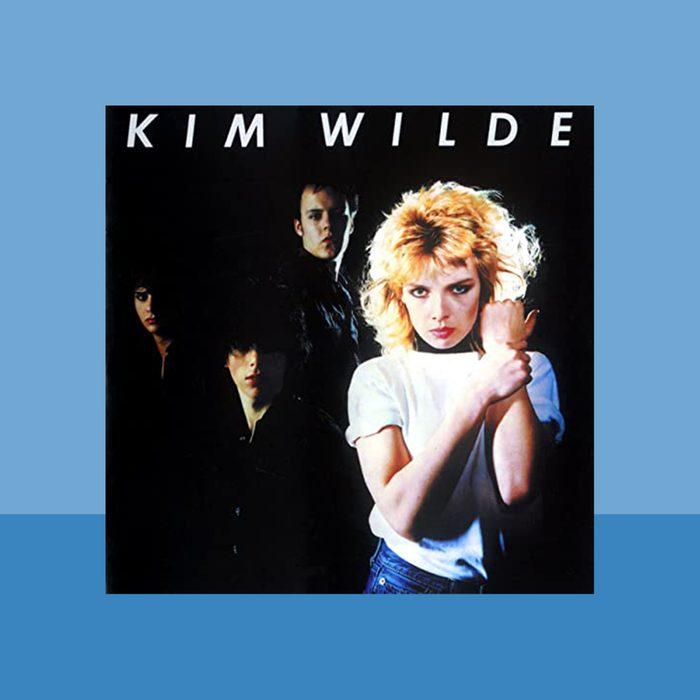 """Kids in America"" by Kim Wilde album cover art"