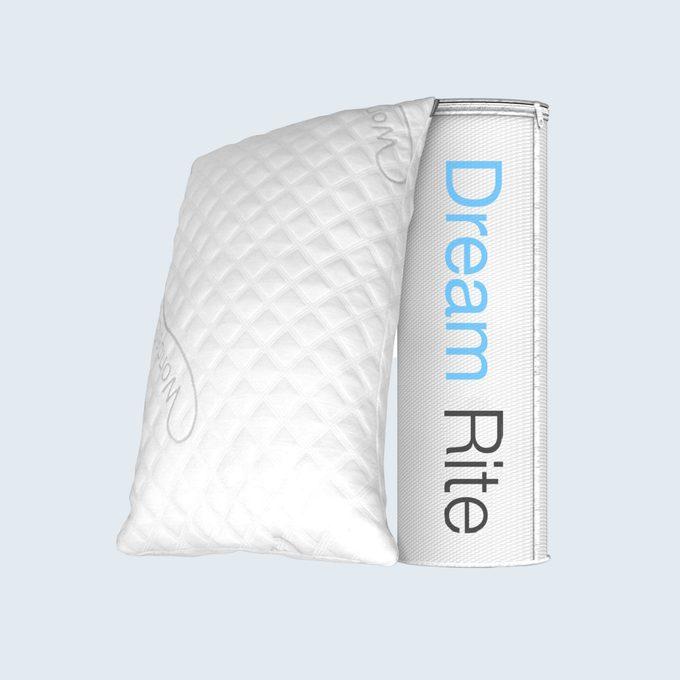 Wondersleep Dream Rite Shredded Hypoallergenic Memory Foam Pillow