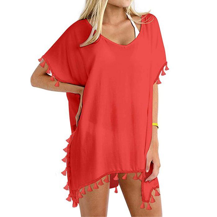 Yincro Chiffon Beach Dress
