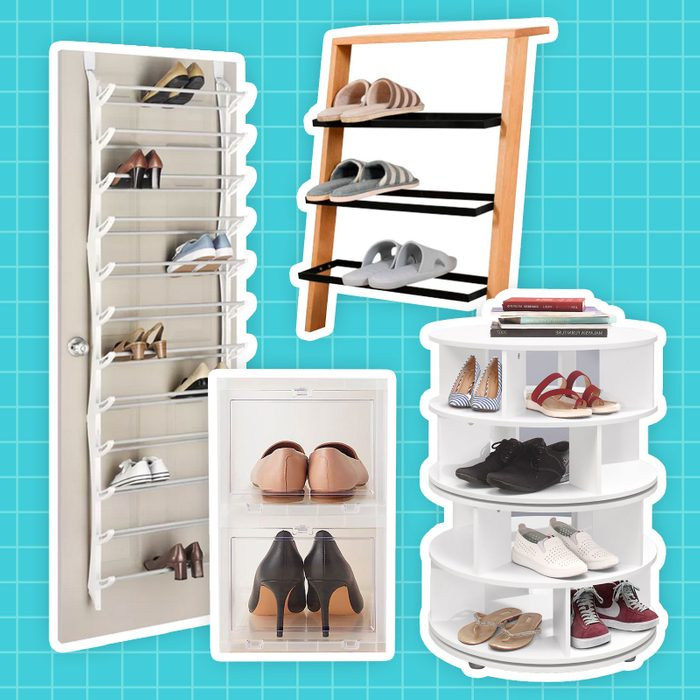 Best Shoe Storage - collage of products