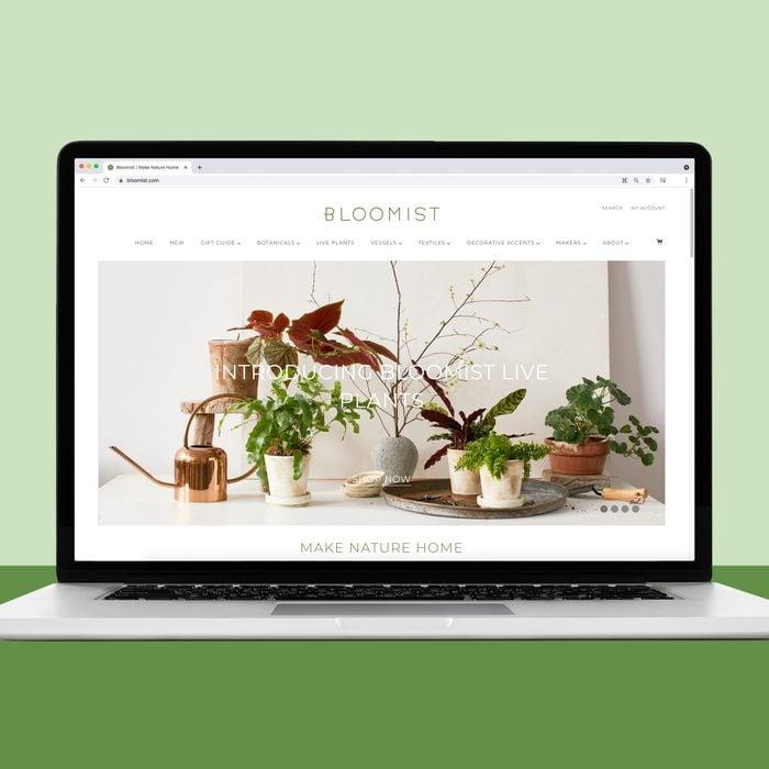Bloomist online plant shopping