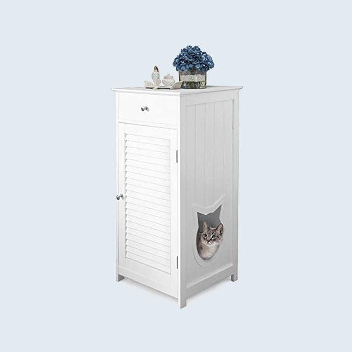 Penn-Plax Cat Litter Box Enclosure
