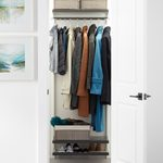 21 Coat Closet Organization Ideas You'll Wish You Knew Sooner