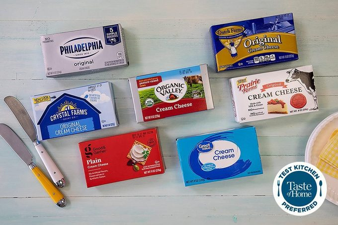 Cream Cheese In Packages
