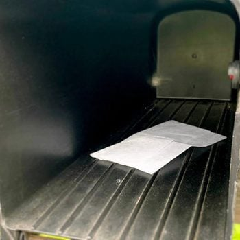 If You See a Dryer Sheet in Your Mailbox, This Is What It Means