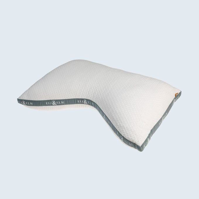 Eli & Elm Cotton Side Sleeper Pillow