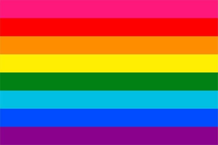 Gilbert Baker Pride Flag