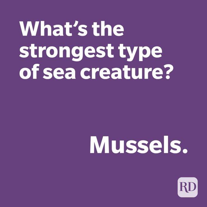 Sea creature joke