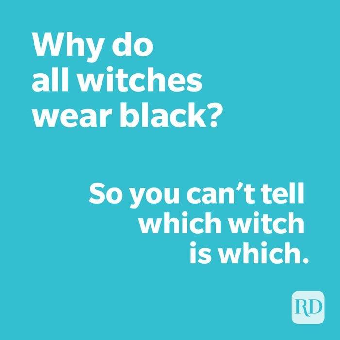 Witch joke