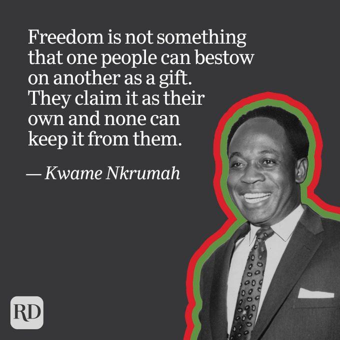 Kwame Nkrumah quote