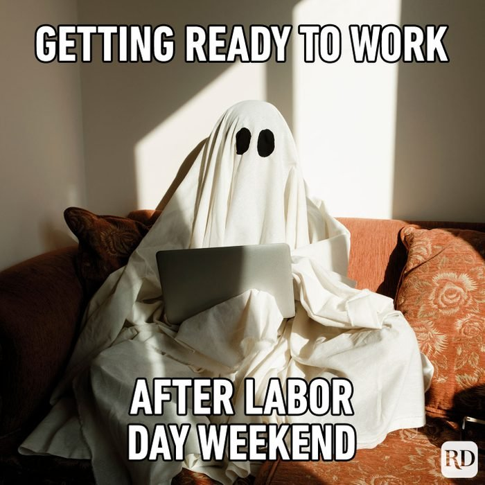 Meme text: So, what are you doing for the long weekend?