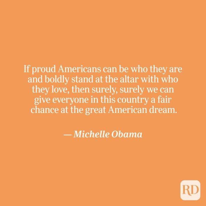 Obama quote on orange