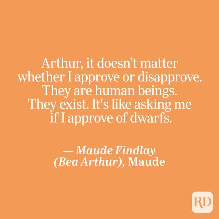 Findlay quote on orange