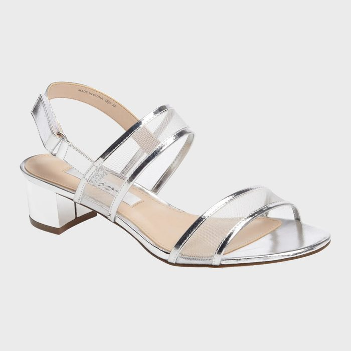 Nina Ganice Mesh Strap Sandals