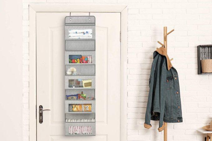 Linen Closet Door Storage Organizer
