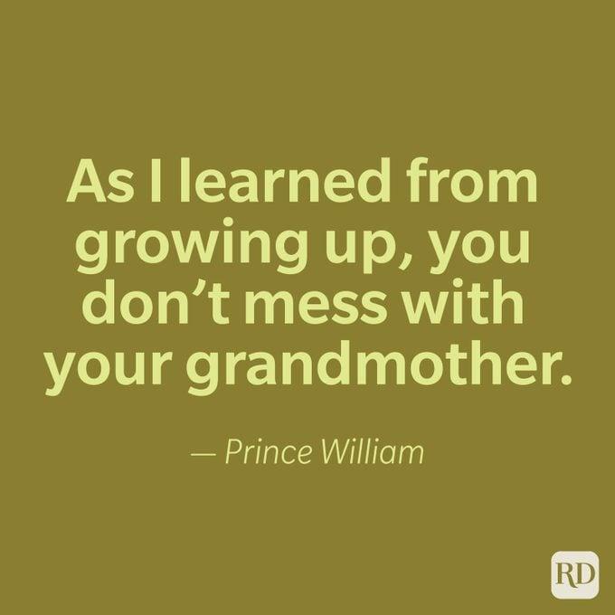 Prince William Quote