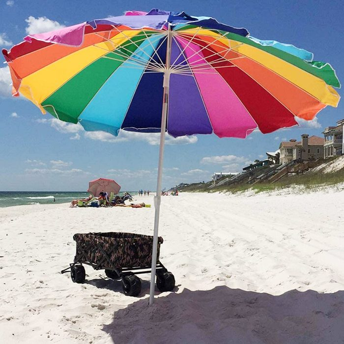 Impact Canopy 8-Foot Beach Umbrella