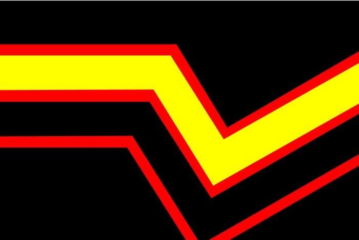 Rubber Pride Flag