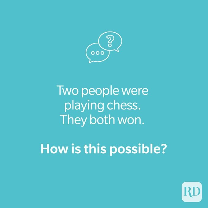Chess riddle on teal