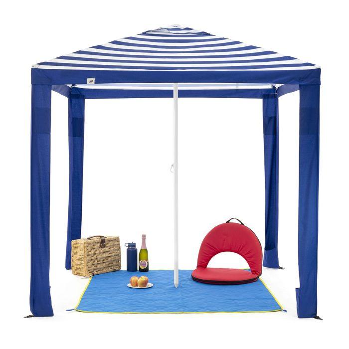 SlumberTrek Maui Outdoor Beach Cabana Patio Umbrella