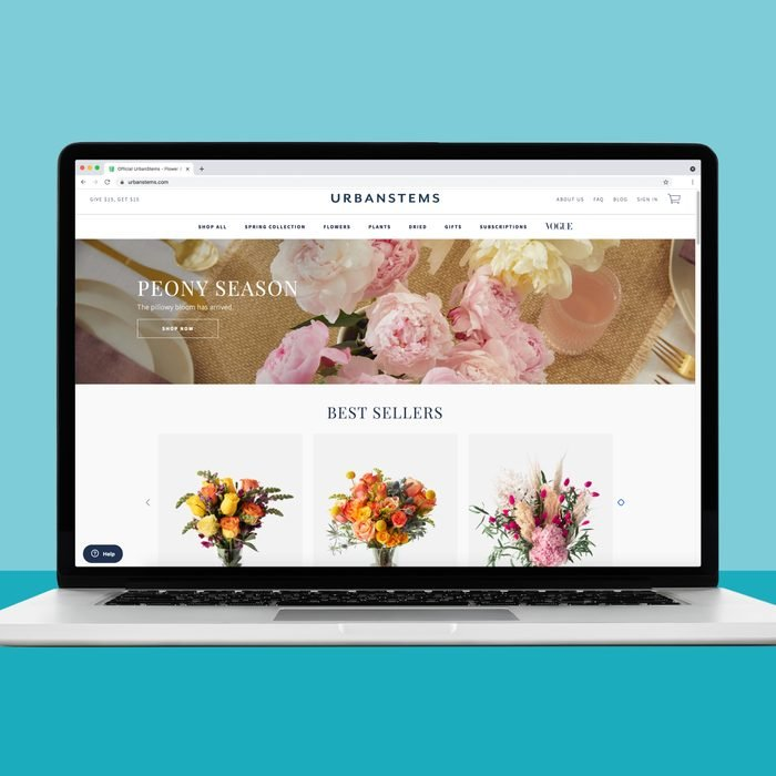 Buying plants online from urban stems