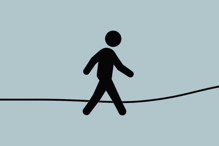 human figure walking