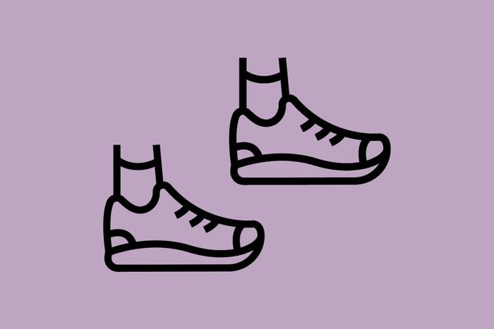 two shoe illustrations