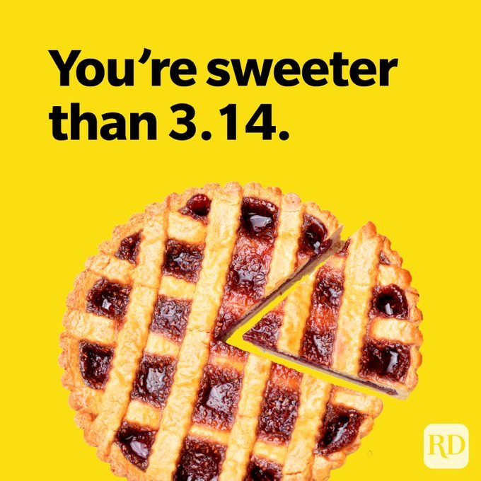 You're sweeter than 3.14.