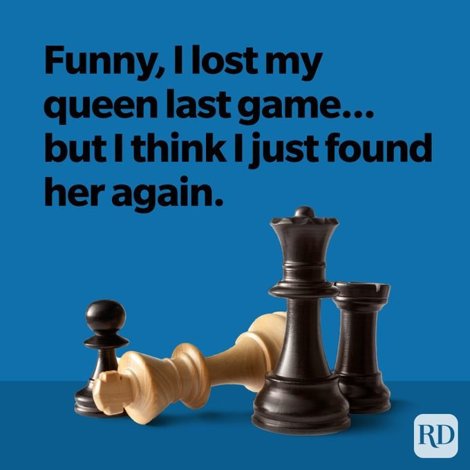 Funny, I lost my queen last game...but I think I just found her again.