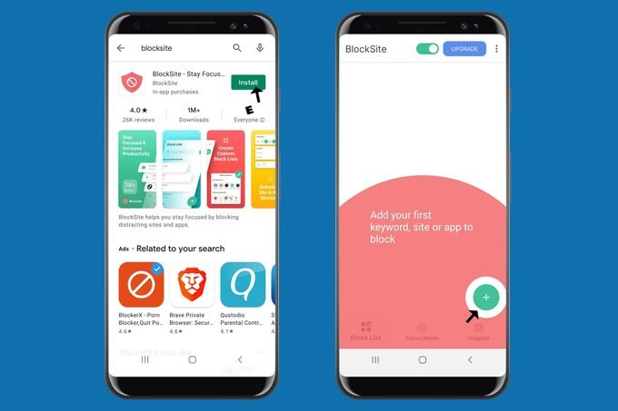 Android Blocksite