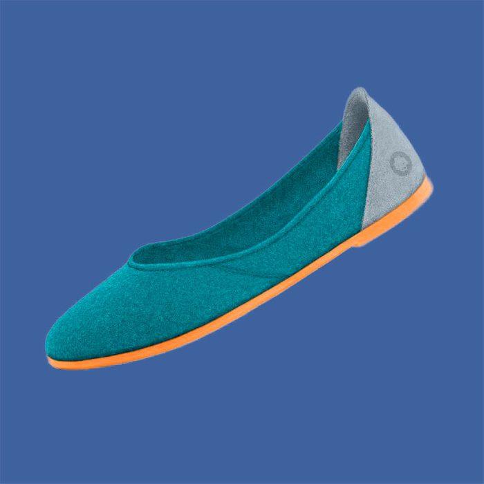 Baabuk Wool Ballerina Flats