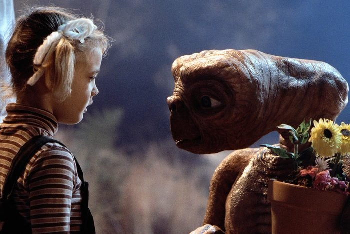 Scene from E.T. The Extra Terrestrial