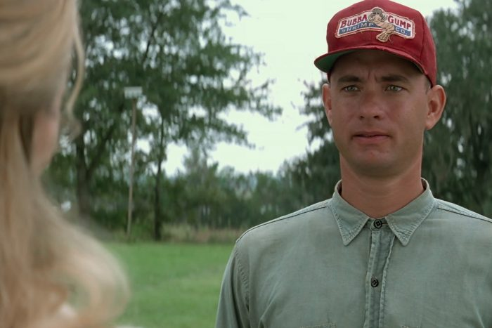 Scene from Forrest Gump