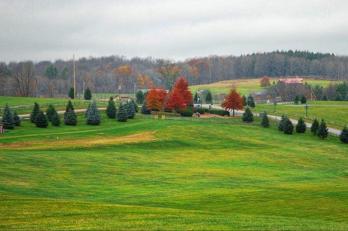 Woodstock, New York in Autumn