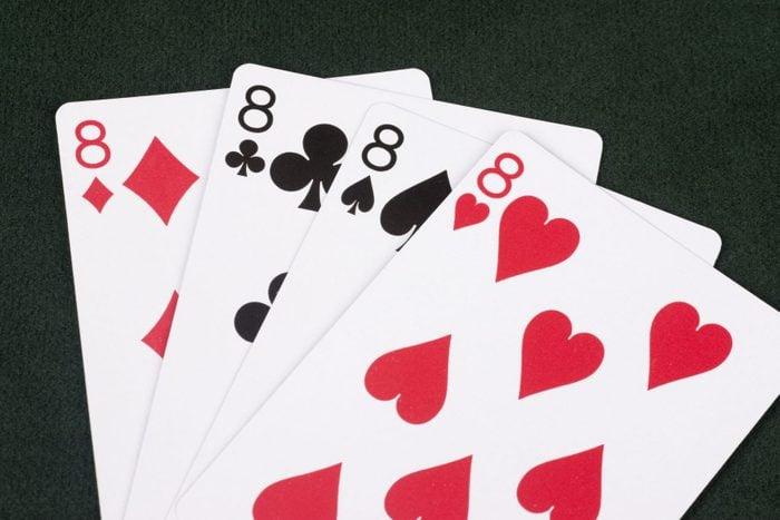 Winning Hand of Crazy Eights
